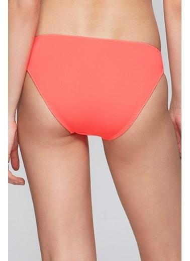 Reflections Mix Match Düz Basic Bikini Alt Kırmızı